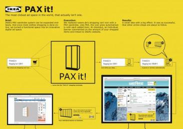 IKEA: PAX it! [image] Digital Advert by Grabarz & Partner Hamburg