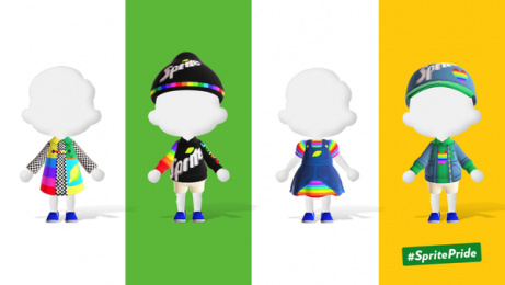 Sprite: Outfits of Pride, 3 Digital Advert by Only IF