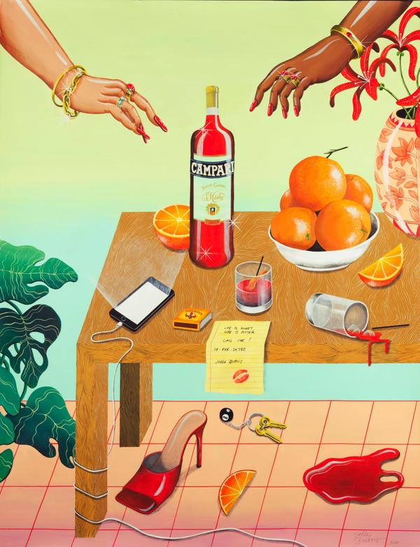 Campari-posters: New Joelledubois