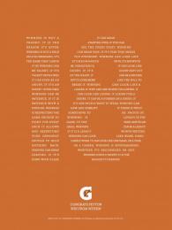 Gatorade: 18 Print Ad by TBWA\Chiat\Day USA