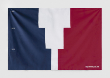 Meter Group: Meltdown Flags: France Print Ad by Serviceplan, Germany