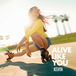 KeVita: Alive Like You, 2 Print Ad by The Integer Group