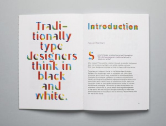 De Buitenkant Publisher: Novo Typo Color Book, 7 Design & Branding by Novo Typo
