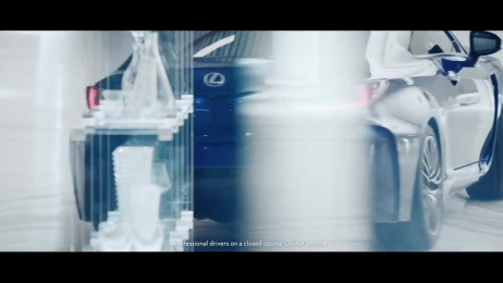 Lexus: The Crystal Gauntlet Film by Carnage, Team One Los Angeles