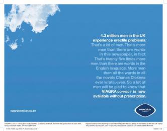 Viagra: News Print Ad by Y&R London
