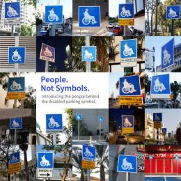 Access Israel: People.Not Symbol (Image) Ambient Advert by Leo Burnett Israel