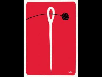 """Umbro: """"Needle"""" Print Ad by Love Creative"""