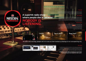 Nescafe: The Dead Hour By Nescafe [image] Radio ad by McCann Erickson Mumbai