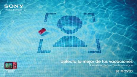 Sony: Sony underwater, 2 Print Ad by ESTILO3D, Iris Atlanta