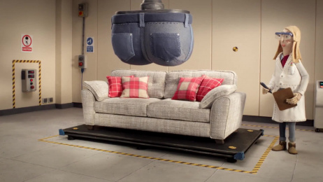 DFS: The Big Sofa Test Film by Krow Communications