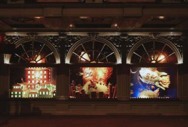 Fortnum & Mason: Christmas Windows, 13 Outdoor Advert by Otherway