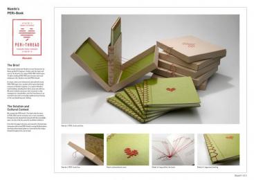 Nando's: PERi-THREAD Book, 1 Direct marketing by Lowe Johannesburg