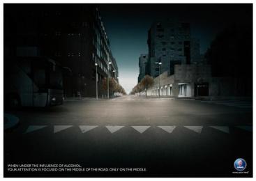 Saab Anti Drink&drive: BUS Print Ad by Leagas Delaney Milan
