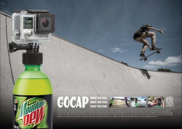 Mountain Dew: Mountain Dew Gocap [image] Ambient Advert by Colenso BBDO Auckland