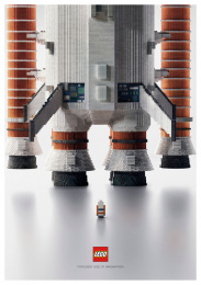 LEGO: For every imagination: Spaceship Print Ad by Ogilvy & Mather Bangkok