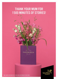 Interflora: Stories Print Ad by Volt