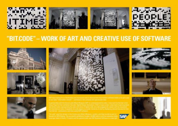 Sap: BIT.CODE Design & Branding by Ogilvy & Mather Frankfurt