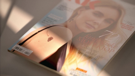 KK Magazine: The Cancer Cover, 1 Case study by Try/Apt Oslo