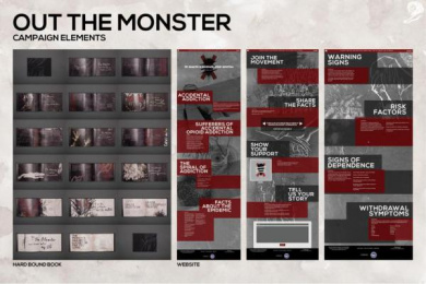 Orexo: Out The Monster Digital Advert by StrawberryFrog