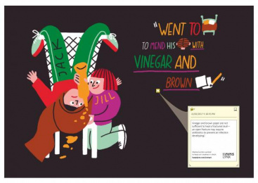 Havas: Keep Our Creatives In Check, 1 Print Ad by Havas Lynx Manchester