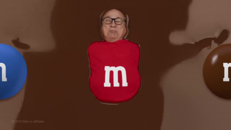 M&M's: Danny DeVito [15 sec] Film by BBDO New York, Hungry Man