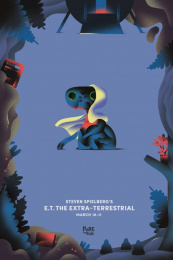 Cinema du Parc: E.T. The Extra-Terrestrial Print Ad by Les Evades