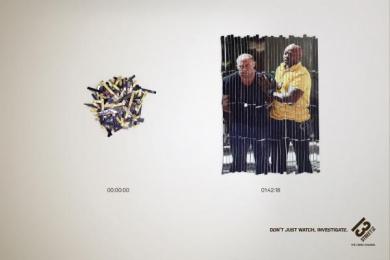 13eme Rue (13th Street): The Season Print Ad by BETC