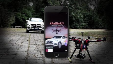 Mercedes-Benz: #FindTheSUV Film by Roncaglia & Wijkander
