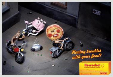 Digestive Pills: BACKYARD Outdoor Advert by DDB Berlin
