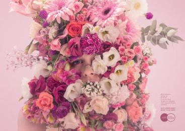 Aefi Spanish Florist Association: Pink Print Ad by Y&R Madrid