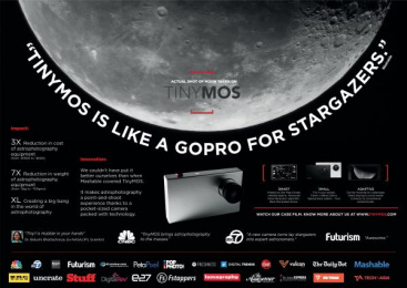 Tinymos Astrophotography Camera: Tinymos Case study by Y&R Singapore