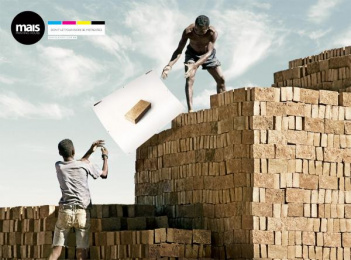 Mais Printing House: Brick Print Ad by Artplan Sao Paulo, Mohallem Meirelles