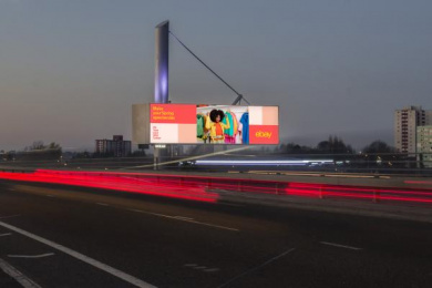 Ebay: Weather-Driven Spring Campaign, 2 Outdoor Advert by 72andsunny