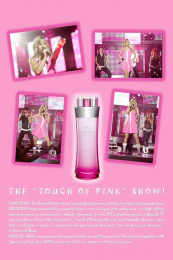 Touch Of Pink Perfume: TOUCH OF PINK Print Ad by Zenithmedia