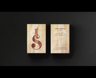 TOM SANDS: ON SONG FOR LUTHIER CRAFTSMAN, 2 Design & Branding by Elmwood