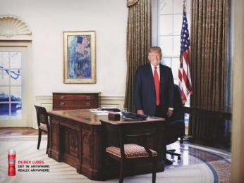 Durex: Trump Print Ad