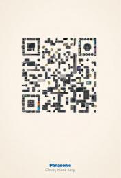 Panasonic: QR Code Print Ad by Publicis Mojo Auckland