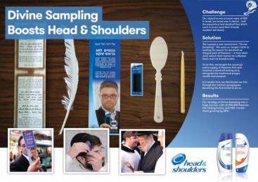 Head & Shoulders: 100% Kosher Head & Shoulders Case study by Mediacom Tel Aviv, Stern Ariely Public Relations