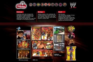 Sabritas Snaks: WWE TAZOS Promo / PR Ad by Vale Euro Rscg Mexico
