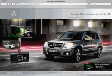 Mercedes-benz Glk: Mercedes GLK Online Digital Advert by Jung Von Matt Germany