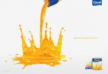 Coral Paints: Crown Print Ad by Euro Rscg Sao Paulo