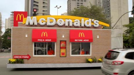 McDonald's: Drive-Thruck [image] Print Ad by DPZ Sao Paulo