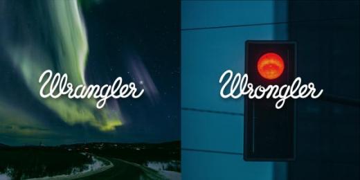 Wrangler: Wrangler vs Wrongler, 7 Print Ad by WE ARE Pi
