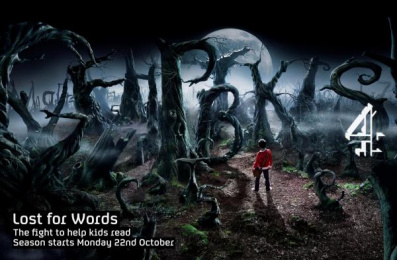 'lost For Words' Programming: LITERACY SEASON Print Ad by 4creative