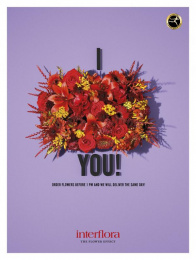 Interflora: The Flower Effect 1 Print Ad by Volt