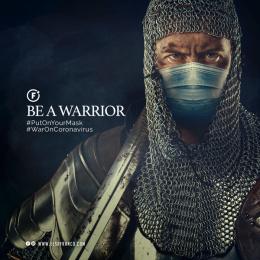 Sr Franco: Be a Warrior, 2 Digital Advert by El Sr Franco