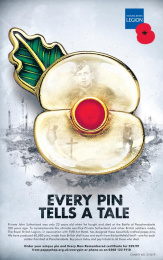 The Royal British Legion: Every Pin Tells a Tale Print Ad by Geometry Global London, VCCP London