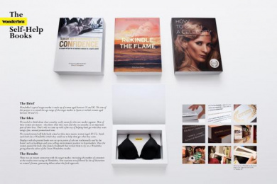 Wonderbra: BOOKS Direct marketing by Publicis Madrid