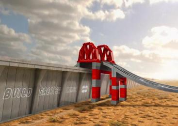 LEGO: Creative Bridge Print Ad by Simulador de Vuelo Mexico City