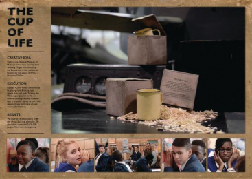 South African National Museum Of Military History: THE CUP OF LIFE Digital Advert by Ireland/Davenport